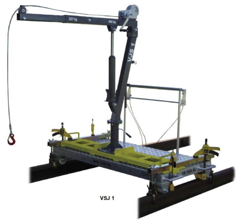 Wózek z żurawiem VSJ 1