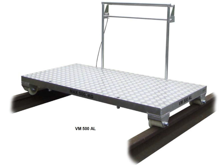Wózek manipulacyjny VM 500 AL