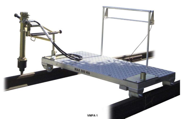 Wózek manipulacyjny z pantografem i agregatem VMPA 1